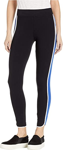 Racer Stripe Cotton Leggings