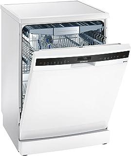 Siemens iQ500 SN258W01TE lavavajilla Independiente 14 cubiertos A+++ - Lavavajillas (Independiente, Tamaño completo (60 cm), Blanco, Blanco, Tocar, 1,75 m)