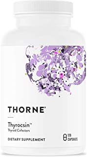 Thorne Research - Thyrocsin - Thyroid Cofactors for Thyroid Function Support - 120 Capsules