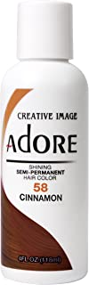 Adore Semi-Permanent Haircolor #058 Cinnamon 4 Ounce (118ml)
