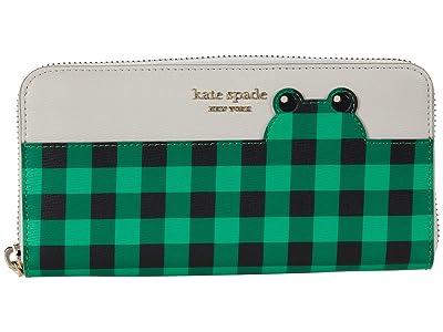 Kate Spade New York Frog Zip Around Continental Wallet