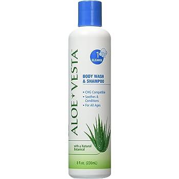 Aloe Vesta? Body Wash & Shampoo, 8 oz Bottle - Pack of 3