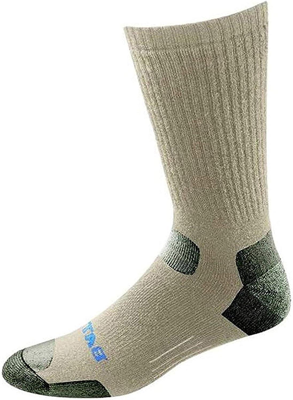 Bates Men's Tactical Mid Calf Socks,Brown,L - Regular