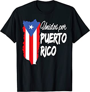 Puerto Rico Se Levanta T-shirt - Unidos Por Puerto Rico T-Shirt