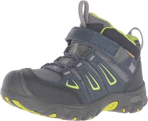 KEEN Oakridge Mid WP, Chaussures de Randonnée Hautes Mixte Enfant