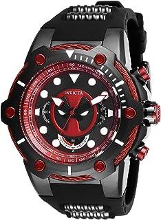 Invicta Men's Marvel 27325 Analog Display Quartz Black Watch