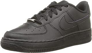 Nike Kid's Air Force 1 Low Preschool Basketball Shoes, Black/Black-Black 3Y