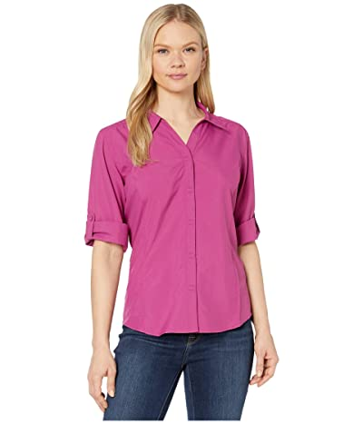 Royal Robbins Expedition Chill Stretch 3/4 Sleeve Top (Boysenberry) Women