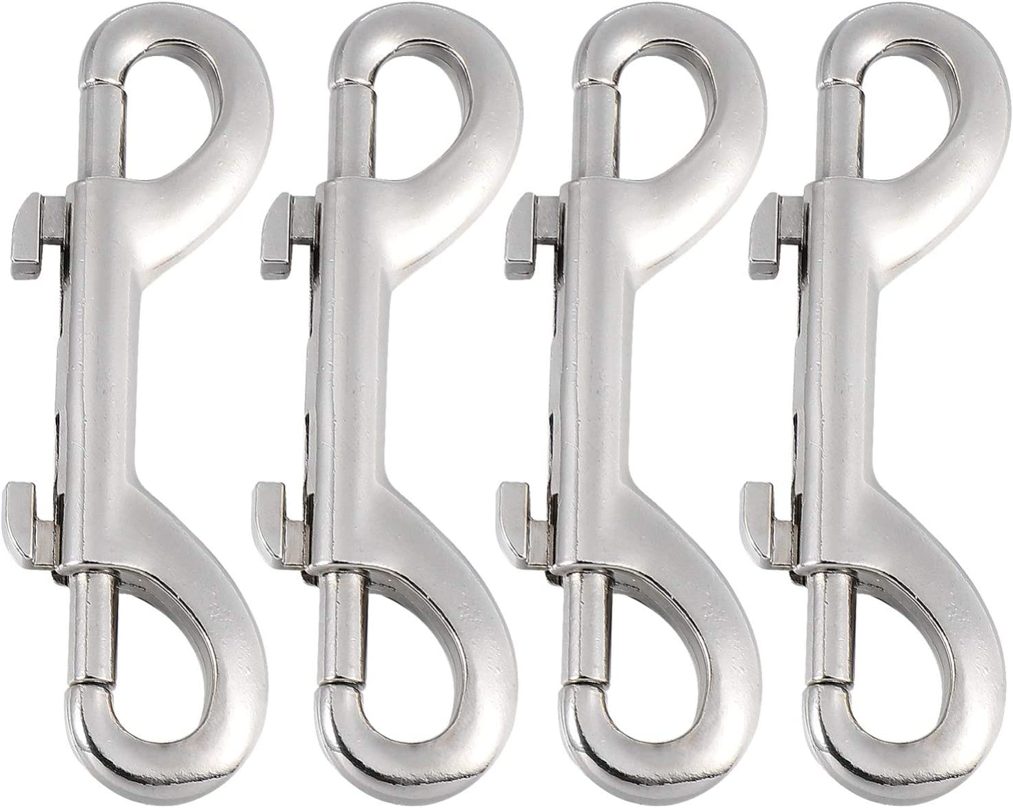 TEHAUX 4 Free shipping Selling Pcs Double Ended Bolt Trigger Marine Grade Hook Me Snap