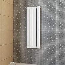 UnfadeMemory Radiador de Panel de Calentamiento,Reed Radiador,Panel Calefactor,Adecuado para Cualquier Sistema de Calefacción Central,Acero Bajo en Carbono,Blanco (311mmx900mm)