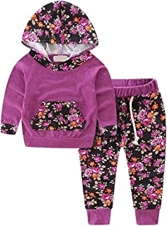 Baby Girls Boys Jogger Outfit, 0 Months - 24 Months