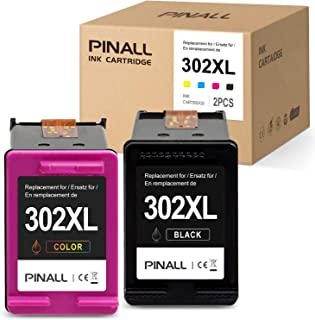 comprar comparacion PINALL 2 Cartucho Compatible HP 302XL para HP DeskJet 3639 3630 OfficeJet 3831 3830 3833 OfficeJet 5230 5232 4655 4650Envy...