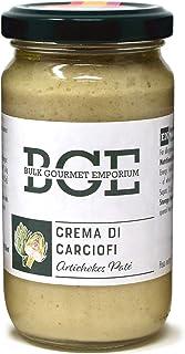 Bulk Gourmet Emporium - Paté de alcachofa en frascos de vidrio, 3 x 180 g (540 g en total)