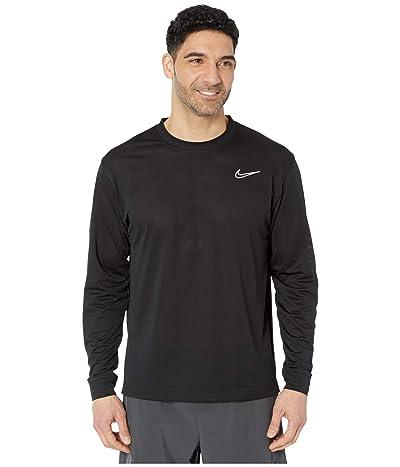 Nike Dry Classic Top Long Sleeve (Black/White) Men