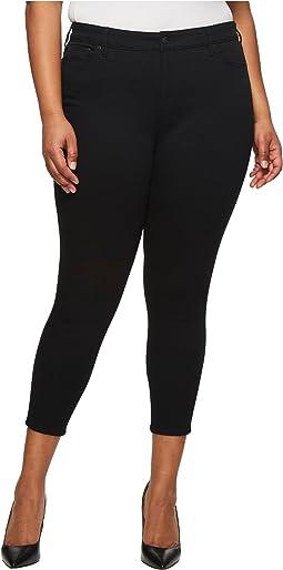 LAUREN Ralph Lauren - Plus Size Premier Skinny Crop Jeans