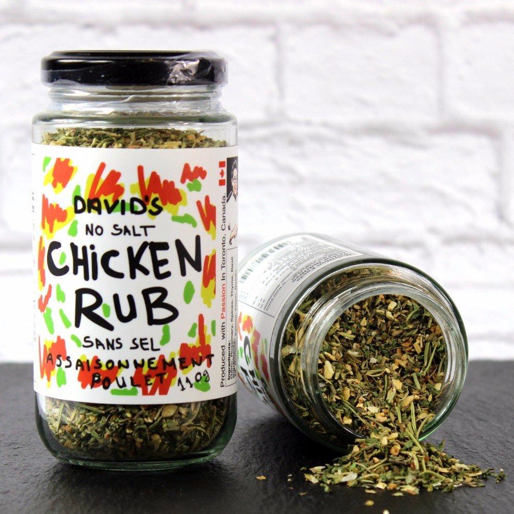 David's Chicken Max 64% OFF Seasoning Rub oz 3.9 outlet SALT FREE