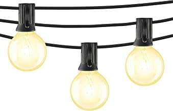Mr. Beams String Lights, 5W G40 Bulb