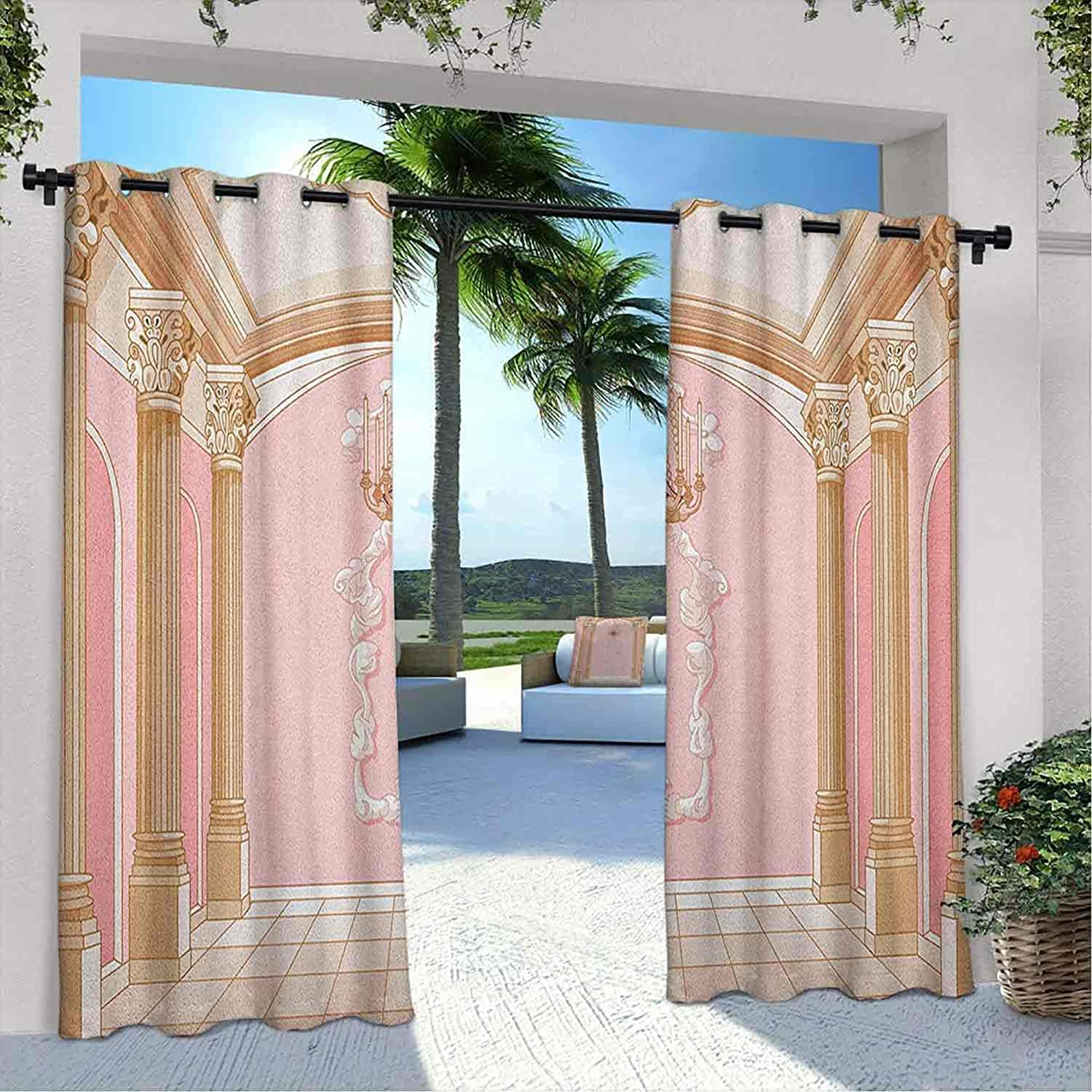 Terrace Outdoor Super beauty product restock quality top Princess Curtain Max 77% OFF Interior Magic of Ballroom The