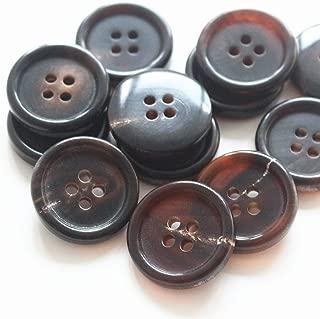 natural horn buttons