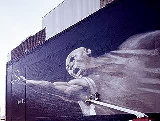 Chicago, IL Photo - Mural to Chicago Bulls basetball legend Michael Jordan. Chicago, Illinois - Carol Highsmith