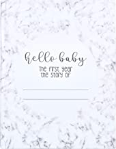 Modern Baby Memory Book Journal for The First Year