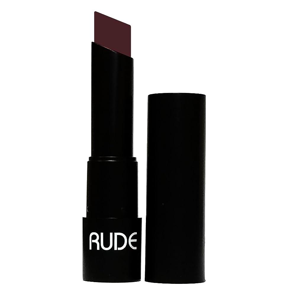 ふくろうスリム洋服(6 Pack) RUDE Attitude Matte Lipstick - Vain (並行輸入品)