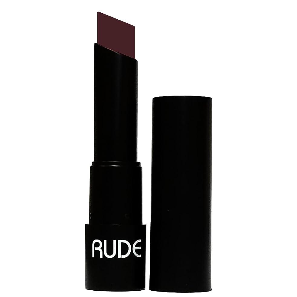 地上で暴君靴下(3 Pack) RUDE Attitude Matte Lipstick - Vain (並行輸入品)