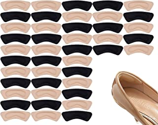 Sponsored Ad - 20 Pairs Heel Cushion Pads Heel Shoe Grips Liner Self-Adhesive Shoe Insoles Foot Care Protector Premium Hee...