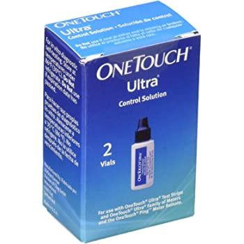 OneTouch Ultra Control Solution, Vials, Pack of 2