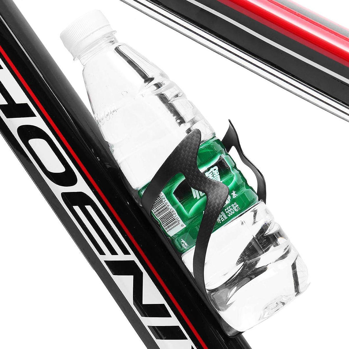 顕微鏡するだろうニコチンFreelance Shop スポーツ 3K フルカーボンファイバー マウンテンロード 自転車 自転車 ウォーターボトルホルダー ケージ ドリンクホルダーラック