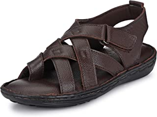 Burwood Men's Leather Casual Sandals