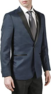 Men's Peak Lapel & Shawl Collar Regular Fit Two Piece...