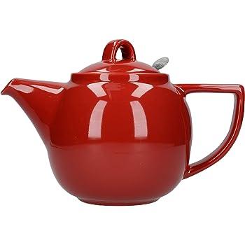 tama/ño Grande Tetera Capacidad para 10 Tazas Price /& Kensington 0056.655 Color Rojo