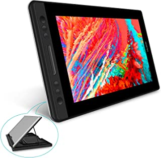 HUION液タブKamvas Pro13 液晶タブレット 傾き検知機能付き 筆圧8192充電不要ペン フルラミネートスクリーンアンチグレアガラス搭載 13.3インチフルHD液タブ Adobe RGB92%