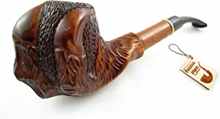 SALE, Fashion Decorated Tobacco Smoking Pipe Carved Pear Root