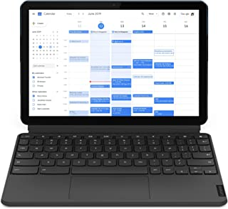 Lenovo Ideapad Duet Chromebook Tablet (10.1 inch, 4 GB, 128 GB, Wi-Fi Only), Ice Blue, Iron Grey