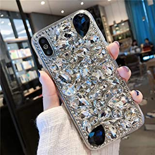 Tianyuanxuan iPhone Xs max Case, Luxury Handmade Crystal Rhinestone Bling Full Diamond Glitter Case Cover for iPhone Xs max 6.5