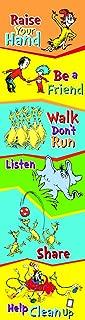 Eureka Dr. Seuss Back to School Classroom Rules Poster Door Decoration, 12'' x 45''