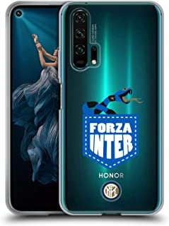 Official Inter Milan Forza Inter 2018/19 The Big Grass Snake Soft Gel Case Compatible for Huawei Honor 20 Pro