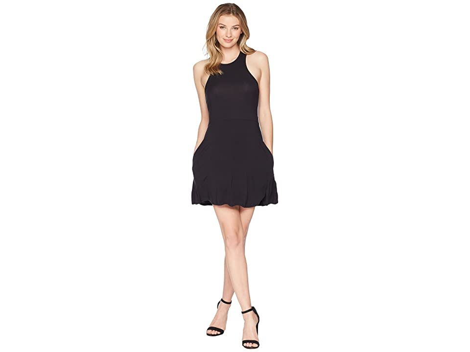 RVCA Iris Dress (Black) Women
