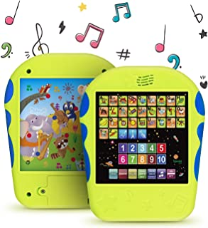 Spanish Learning Tablet Educational Toy for Kids. Touch and Learn Spanish Alphabet Toy for Toddlers
