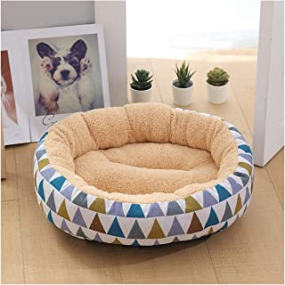 Oasrs Corduroy Mat Dog Bed Small Dog Multiple Styles Spring Bed Washable Small Medium Dog