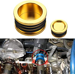 Dewhel B16 B18 B20 H22 H23 F20 Engine For HONDA Acura B-SERIES H-SERIES BILLET Triple O ring CAM CAMSHAFT SEAL PLUG Color Gold