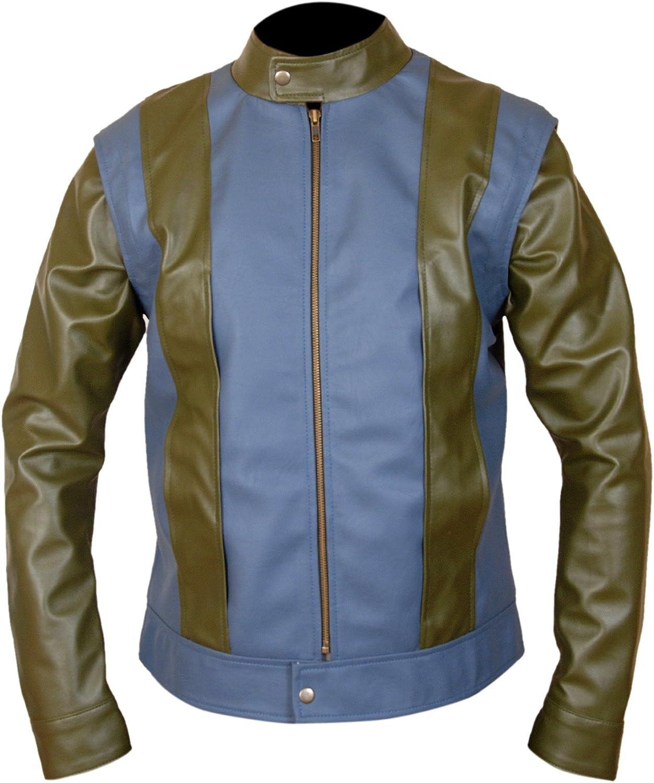 F&H Men's Genuine Leather Superhero Tye Sheridan Jacket