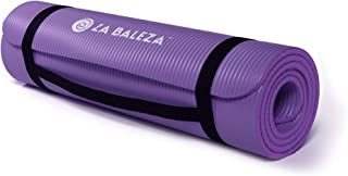 La Baleza 1/2-Inch Extra Thick Yoga Pilates Exercise Mat, Multiple Colors Available