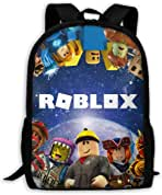 Anime Roblox Backpack Children Boys Girls School Backpacks Roblox Bag Children Cartoon School Bags Backpack Amazon Com Roblox Backpack