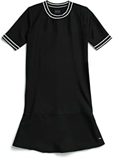 Tommy Hilfiger Women's Adaptive Dress with Velcro Brand Closure at Shoulders