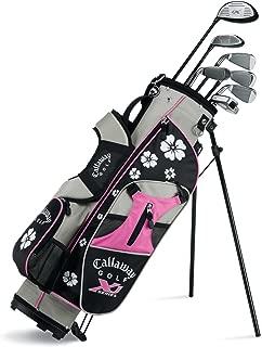 Callaway XJ Junior 11-Piece Girl's Golf Club Set (9-12 Years Old, Left Hand)
