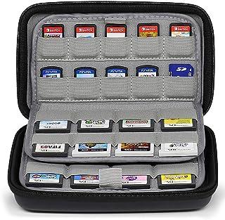 Sisma Funda de juegos para 72 cartuchos Nintendo Switch 3DS DS 2DS PS Vita o Tarjetas SD - Estuche cartuchos juego - color negro
