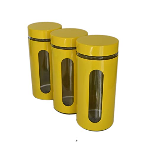 Yellow Canister Sets: Amazon.com